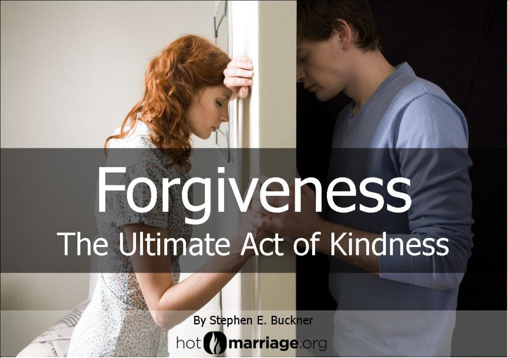 Forgiveness-the Ultimate Act of Kindness
